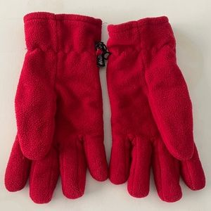 Red Winter Warm Gloves by Thinsulate